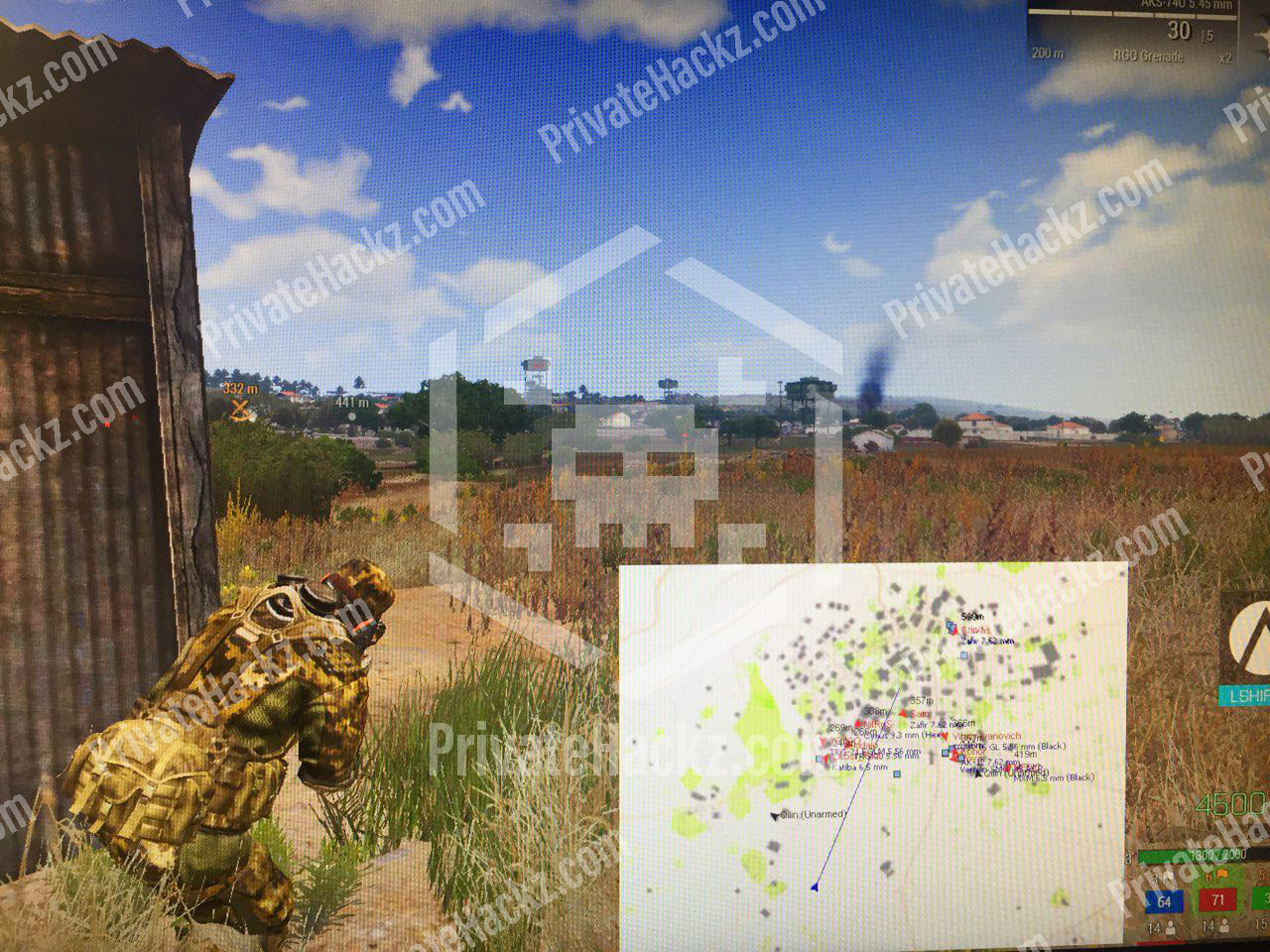 Private radar hack for Arma 3